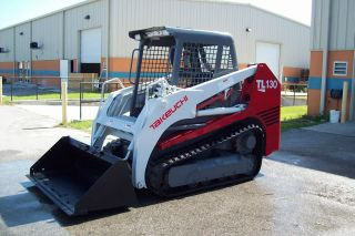 Takeuchi Tl130 Track Loader,  2006,  Low Hrs,  Painted,  Decals,  Tracks,  Fl Unit photo