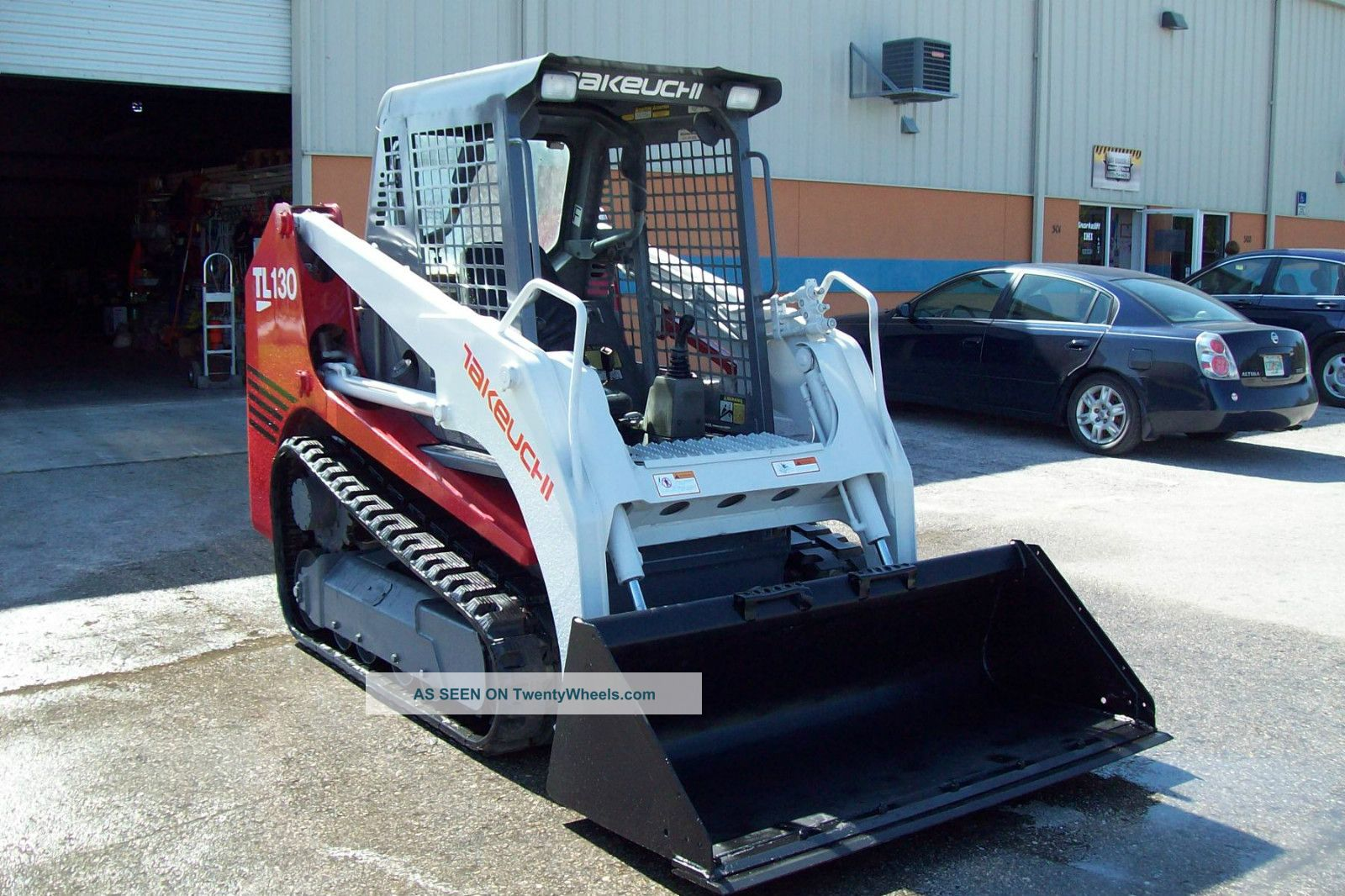 Takeuchi Tl130 Track Loader 2006 Low Hrs Painted
