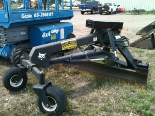 7 Foot Skidloader Grader Attachment Fits Bobcat And Others With Remote Control photo