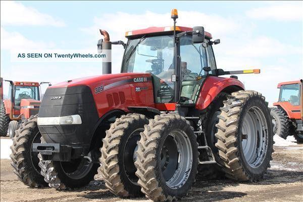 2008 Case Ih Magnum 305 - Mfwd 305hp Tractors photo
