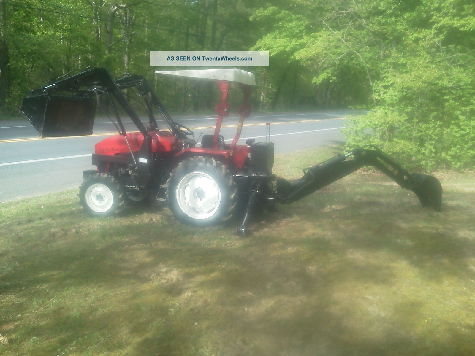2003 Nortrac Jimma Farm Pro 2425 Tractor, Front End Loader ... on