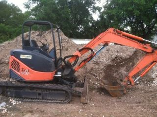 Hitachi Zx50u Excavator,  08,  1421 Hrs11,  000 Lbs,  Digs 11 ' 8