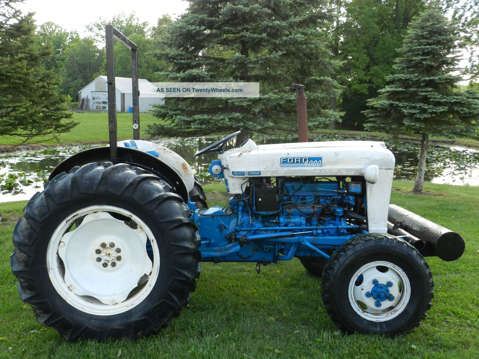 Ford 4000 Diesel Tractor : Roosamaster ford