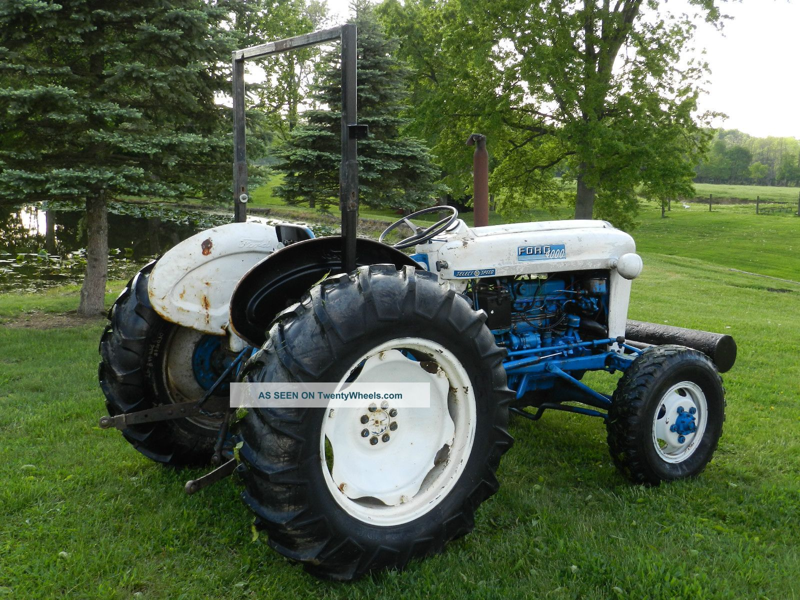 Ford 4000 Diesel Tractor : Ford tractor elenco