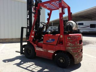 3500lb.  Capacity All Terain Forklift photo