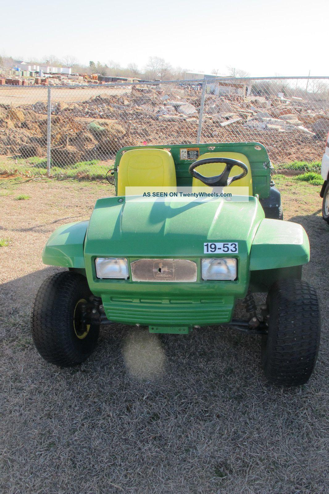 2003 John Deere Gator Utility Vehicles photo