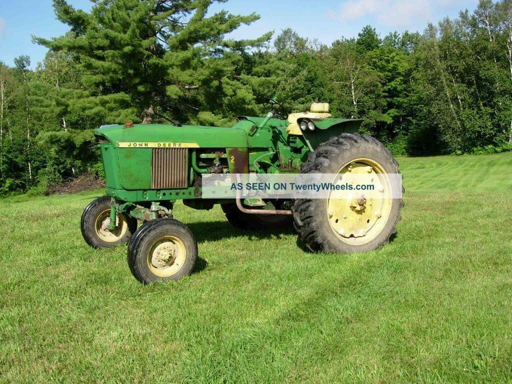 John Deere Gas Tractor Lgw