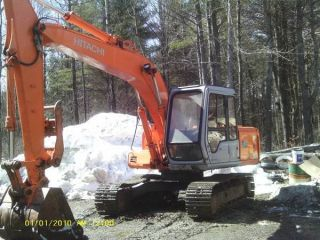 Hitachi Ex120 - 2 Excavator photo