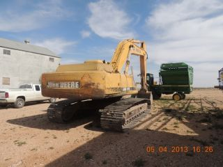 John Deere 892elc Excavator,  Good Running Condition,  Tight.  John Deere 892e Lc photo