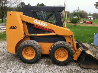 Case 430 Skid Steer / Skid Loader/ Enclosed Cab photo