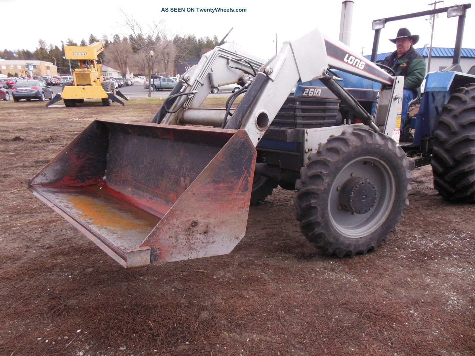 Long Tractor Model Dtc With Front End Loader Lgw