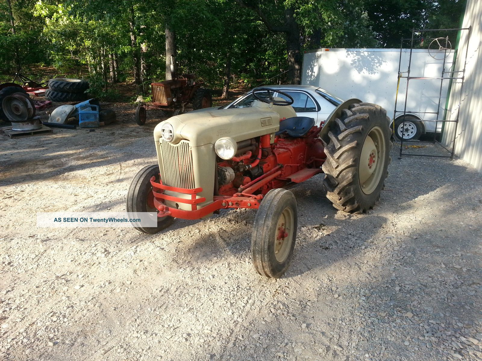 Ford Tractor Identification : Ford tractor identification help