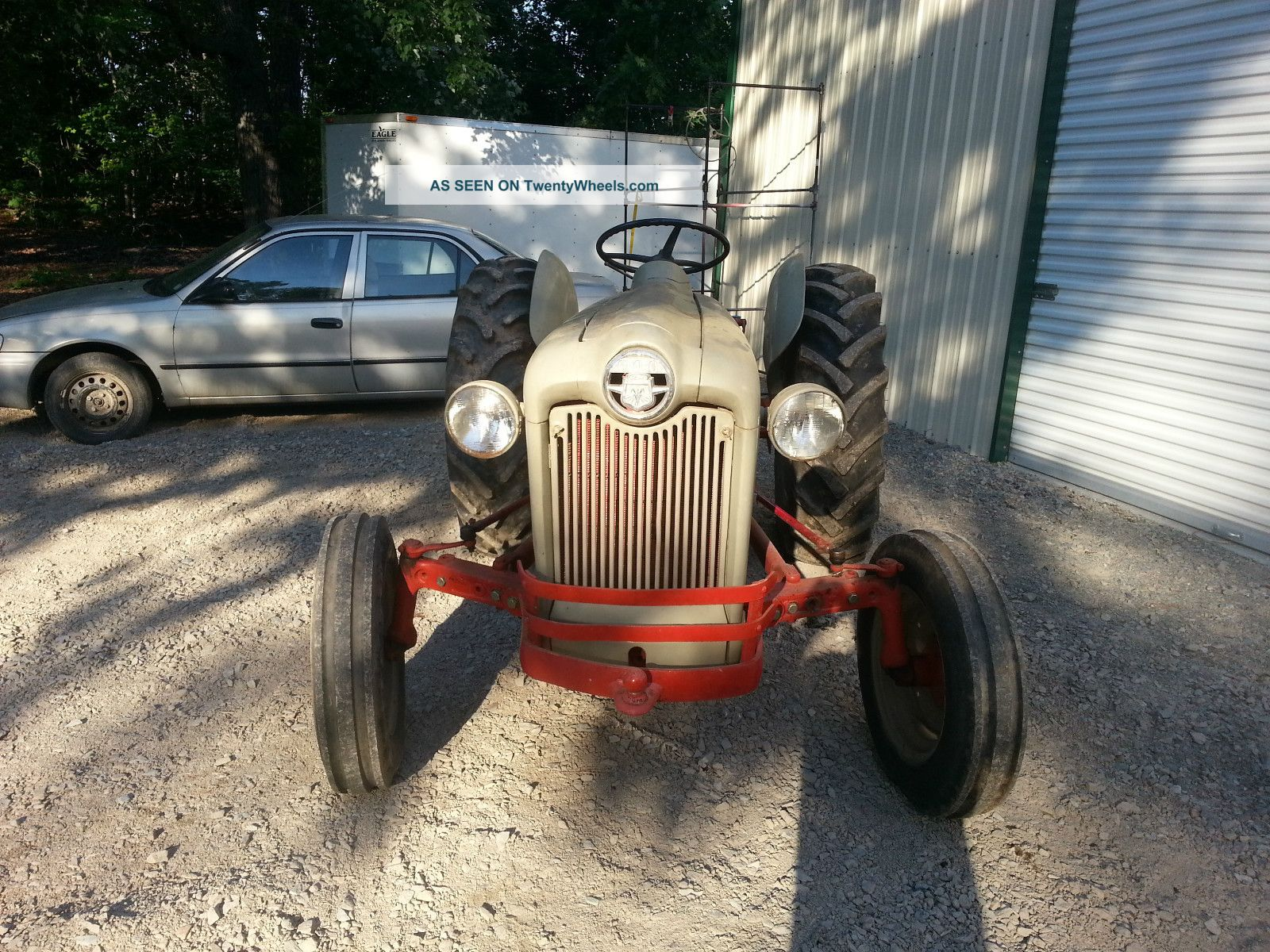 Ford 640 Serial Numbers : Ford naa tractor fairly low serial number