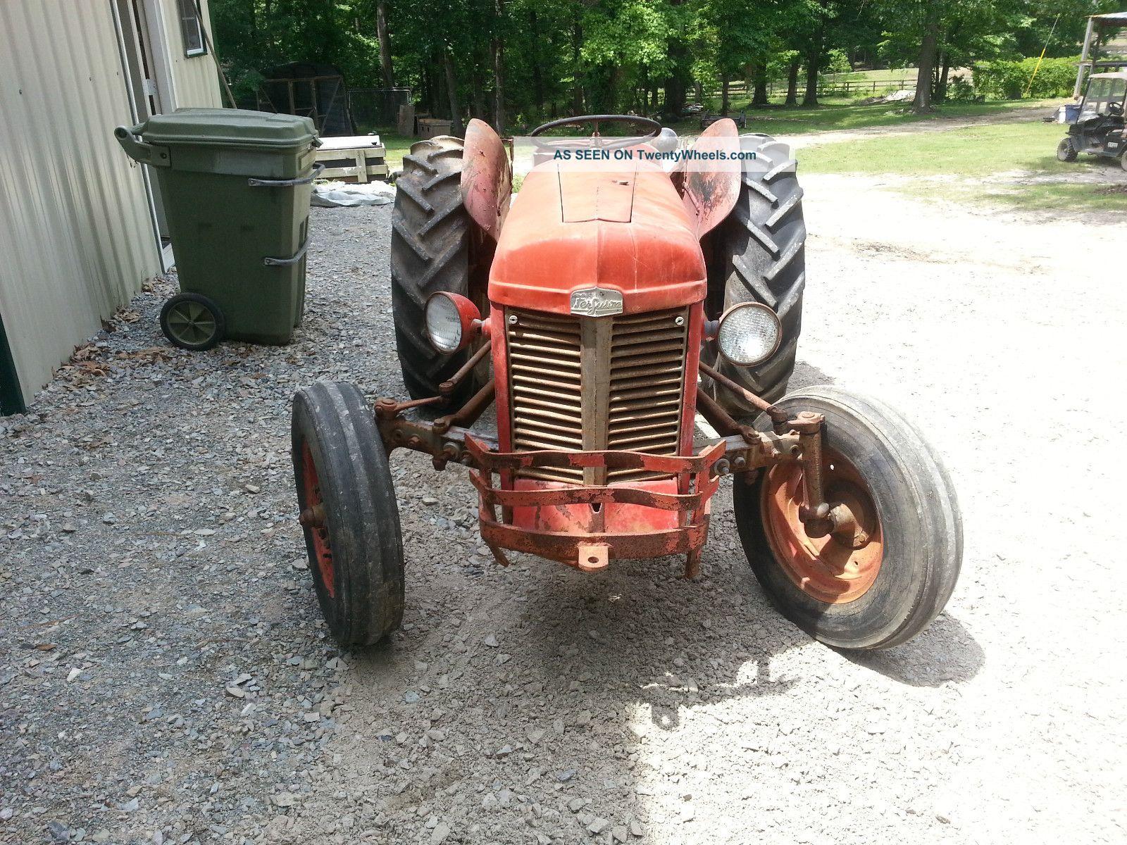 Tractor Live Pto : Massey ferguson tractor live lift pto hp