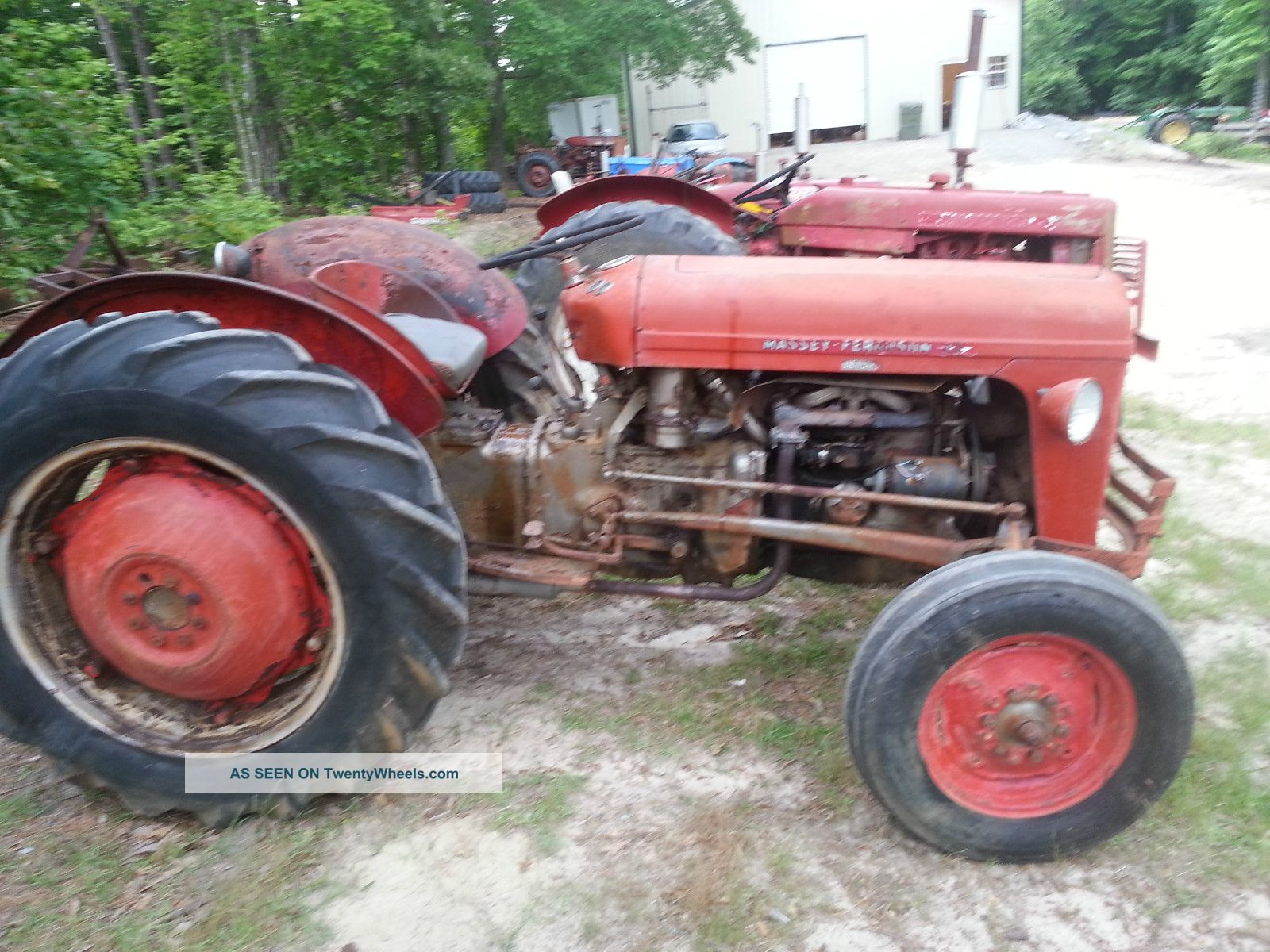 Massey Ferguson Tractor Live Lift Live Pto Hp Lgw