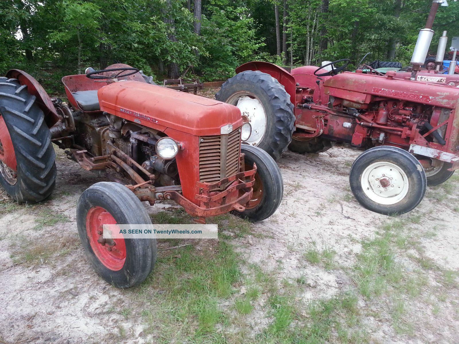 Massey Ferguson 35 Tractor : Massey ferguson tractor live lift pto hp