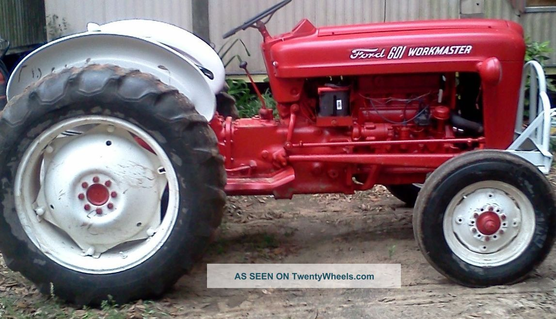 Ford 601 Workmaster Specifications : Ford tractor