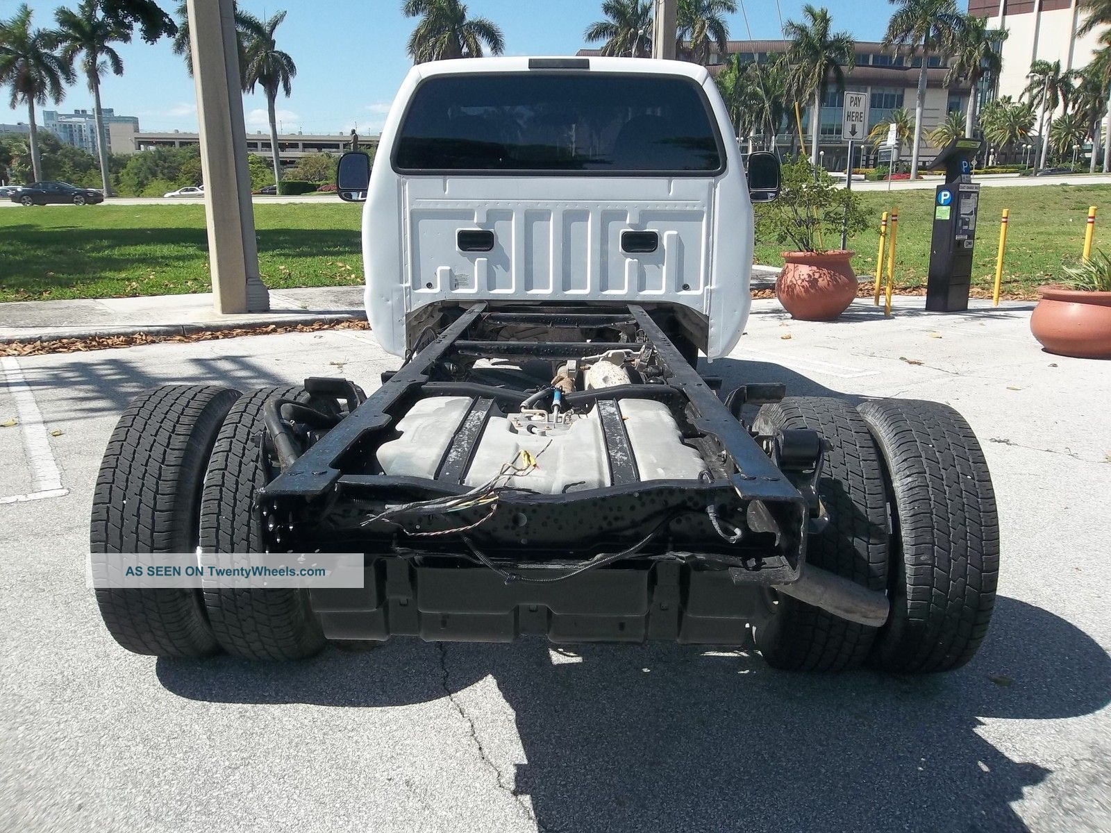 2006 Ford F350 Cab & Chassis Xl 4x4 Diesel Florida