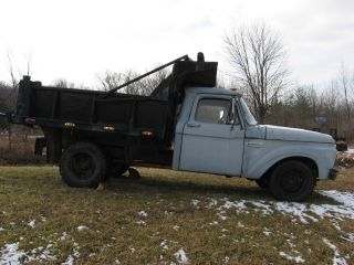 1965 F 250 One Ton Dump Truck photo