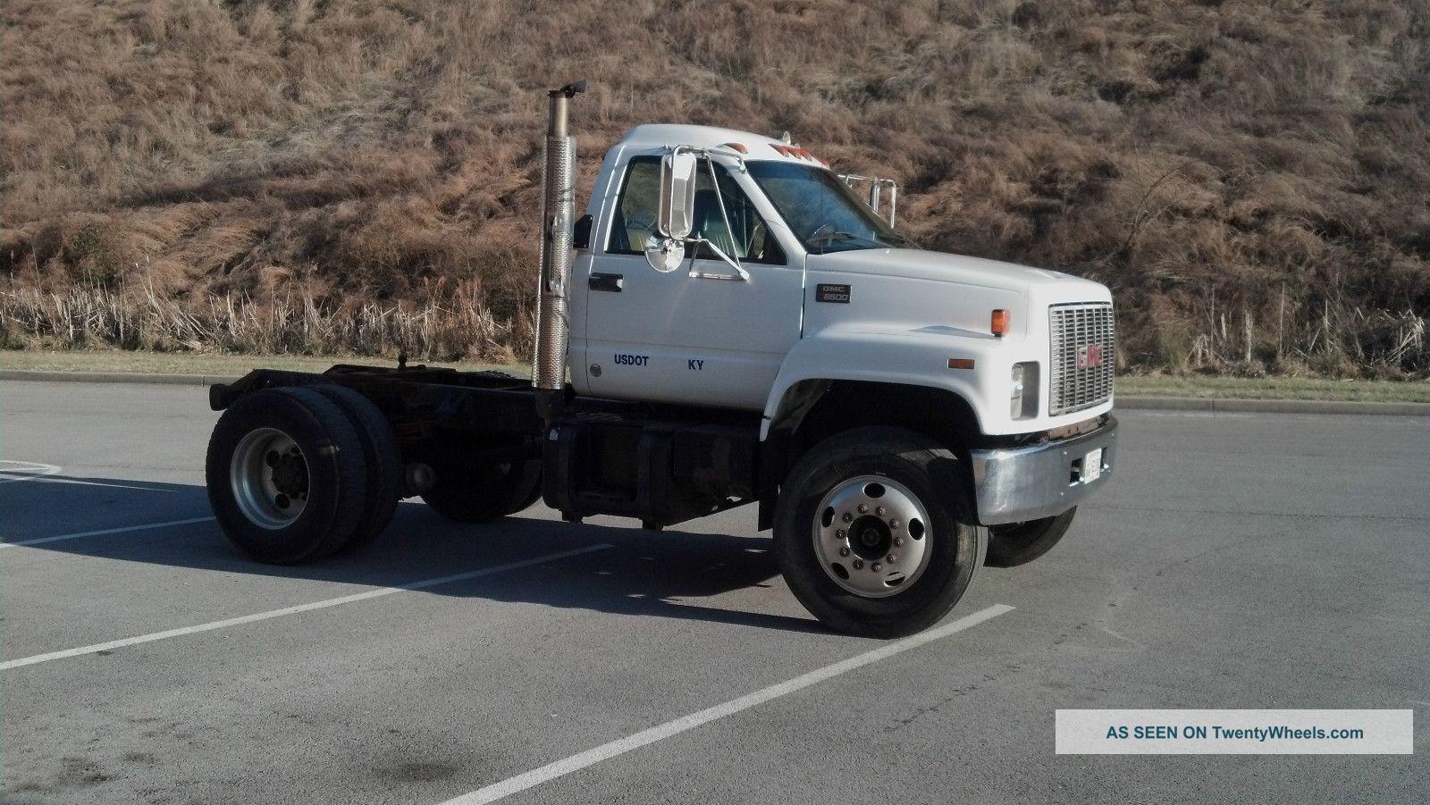 2000 gmc c8500 GMC Semi Truck