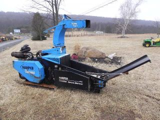 2007 Goossen Harper Sb3500 Skid Mounted Straw Blower Strawblower Hydroseeder photo