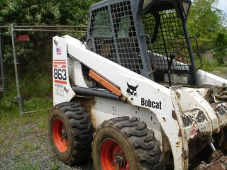 Bobcat 863 - Only 1,  111 Hours - photo
