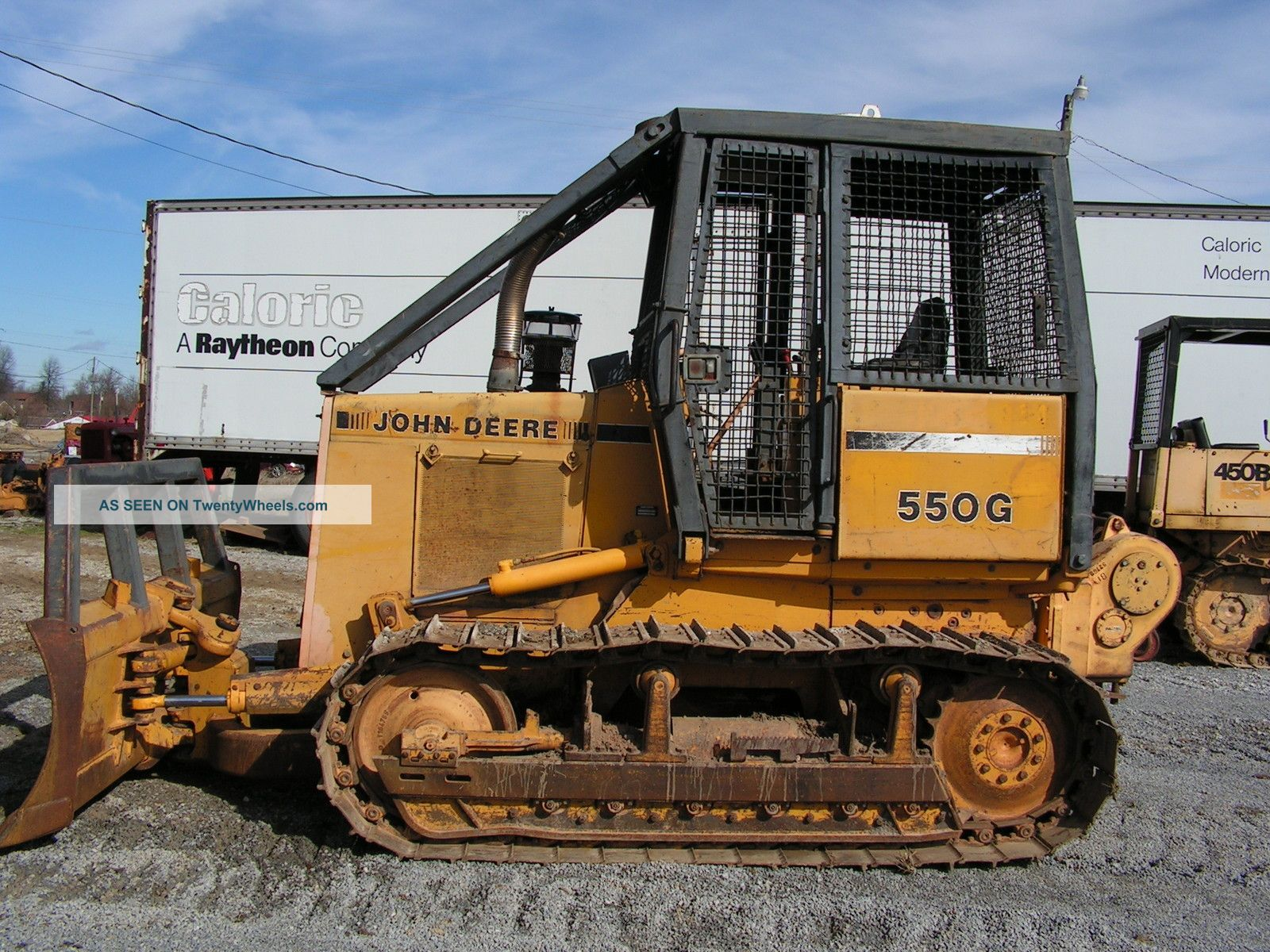 John Deere 550g Dozer With Winch Forestry Package
