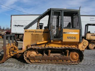 John Deere 550g Dozer With Winch / Forestry Package photo