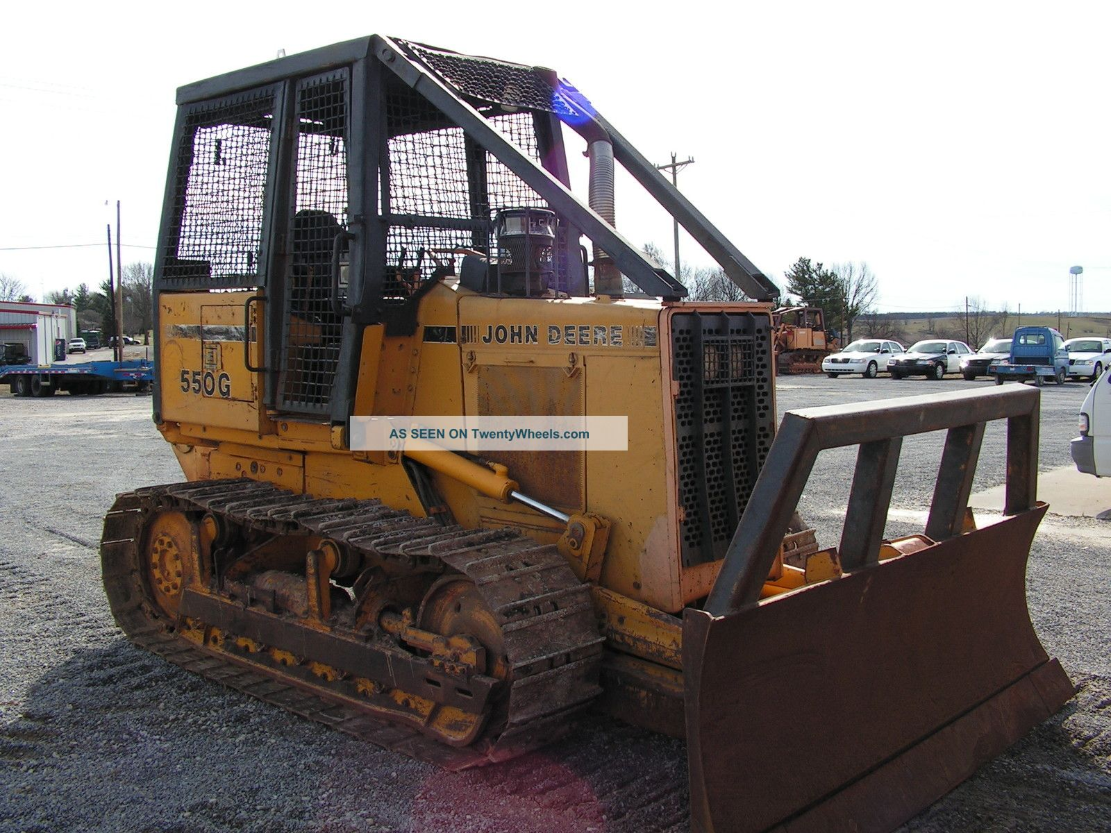 John Deere 550g Dozer With Winch / Forestry Package