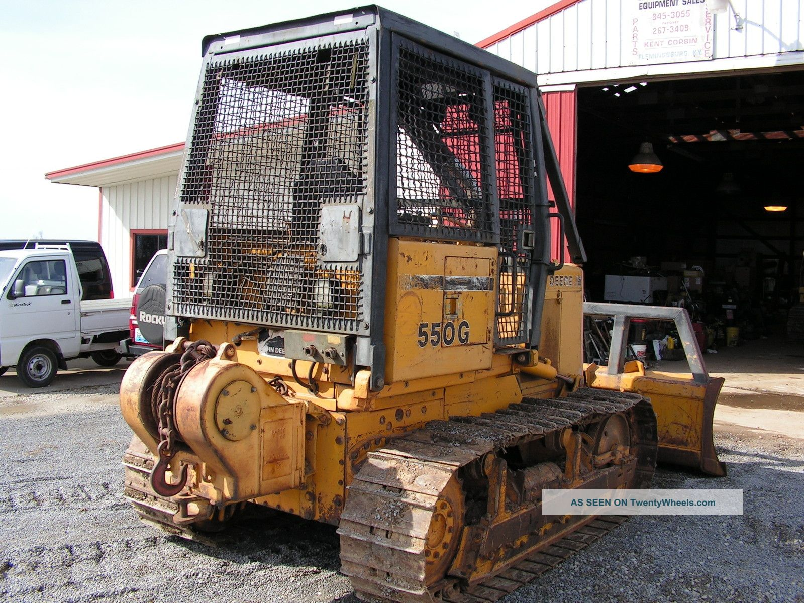 Tractor Forestry Package : John deere g dozer with winch forestry package