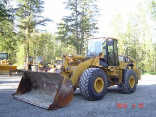 2006 Caterpillar 972h Wheel Loader Q/c Forks And 5.  25 Yd Bucket photo