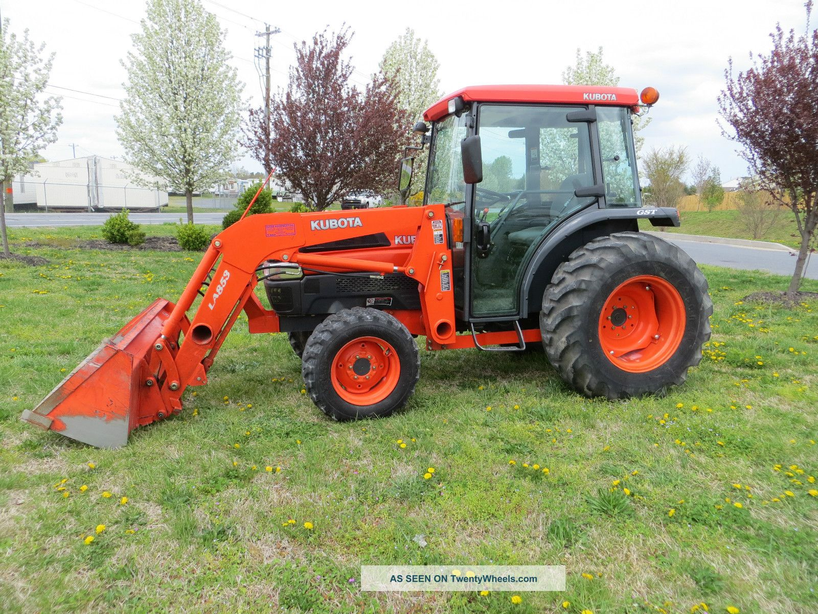 Kubota L4630gstc Cab Tractor With La854 Loader