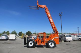 Forward Reach Forklift Skytrak 10042 10,  000 Lb 42 ' Telehandler 4x4x4 photo