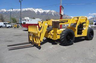 Forward Reach Forklift Pettibone 10044 Extendo 44 ' Reach 10,  000 Lb 4x4x4 Cummins photo