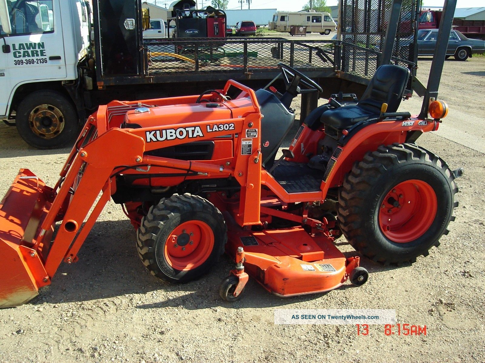 Hydrostatic Transmission Tractor : Kubota b hsd wd hydrostatic transmission diesel with