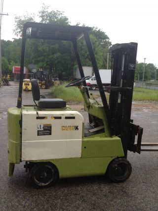 Clark Electric Forklift 1265 Hours Side Shift photo