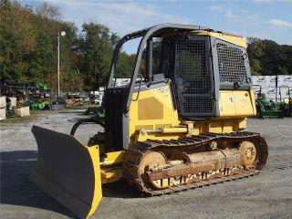 2011 John Deere 650j Xlt Crawler Dozer Tractor photo