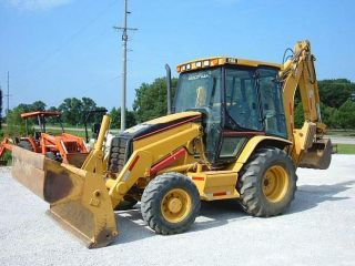 2005 Caterpillar Cat 416d 4wd Backhoe Loader Tractor photo