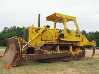 1996 Caterpillar Cat D7g Crawler Dozer Tractor photo