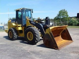 2008 John Deere Jd 624j Wheel Loader Tractor photo