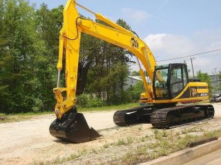 2002 Jcb Js220l Excavator Tractor photo