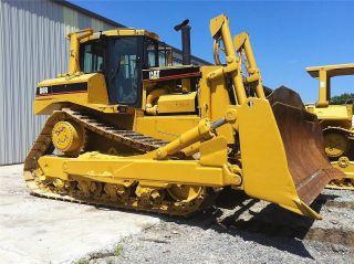 1997 Caterpillar Cat D8r Crawler Dozer Tractor photo