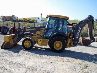 2007 John Deere Jd 310sj 4wd Backhoe Loader Tractor photo