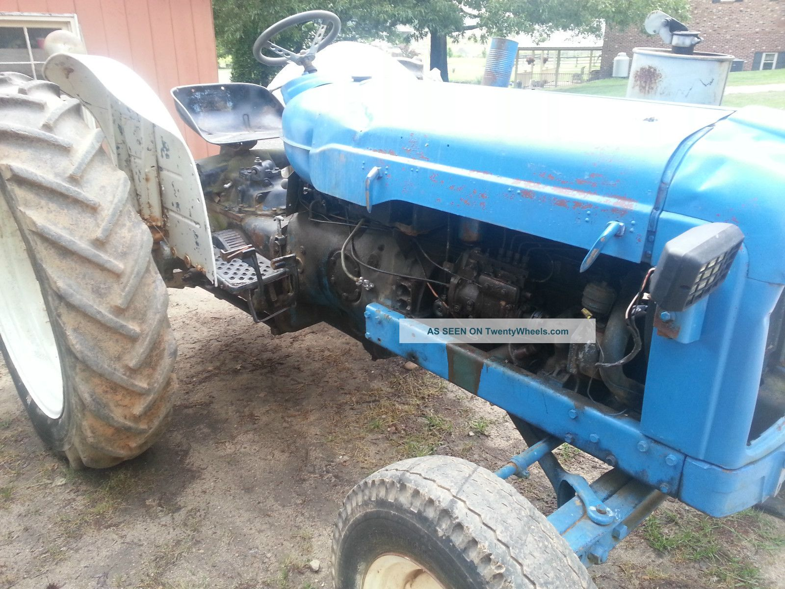 Ford Farm Tractors Tractor Diesel Ford 5000
