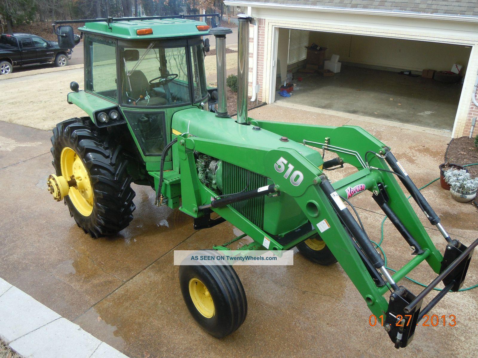 John Deere 4440 Rim : John deere qa loader and rear tires