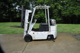 1938 Baker Forklift Runs,  Extra Engine,  With Side Shift photo
