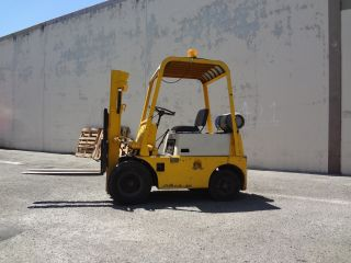 Toyota Fg - 20 4460 Forklift Fork Lift Great Running High Lift photo
