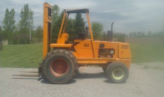 Case 584 Rough Terrain Forklift photo