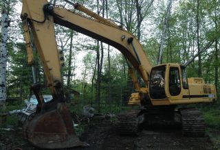 1999 John Deere 330lc Excavator - Video photo
