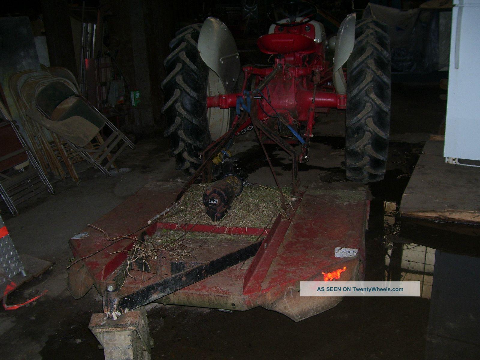 N Ford Farm Tractor Brush Hog Lgw